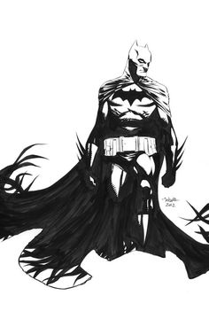 Batman by Marcio Takara