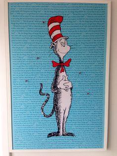 Dr Seuss pinboard
