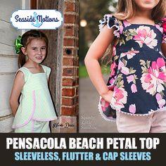 Pensacola Beach Petal Top Sewing Pattern Seaside Notions