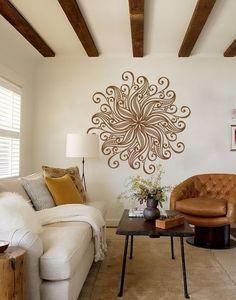 Utilizar mandalas  en la decoración no sólo hará ver fantásticos tus ambientes sino que llenará de energía positiva tu hogar         ...
