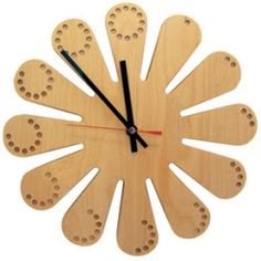 wood clock patterns | Long Simple Clock