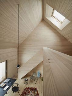 Haus am Moor by Bernardo Bader Architects // Vorarlberg, Austria.