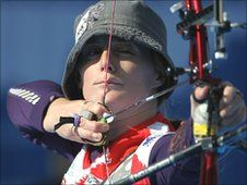 British archers Chris White and Naomi Folkard both went out in the first round of the World Cup Grand Final. Nick Hope reports
