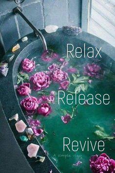 Romantic Bubble Bath, Zen Place, Bubbles, Relax, Tote Bag, Simple, Buts, Farmhouse Ideas, Romance