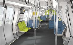 A San Francisco fan created a petition requesting BART to change the color scheme of their planned redesign as it resembles Seattle Seahawks colors. San Francisco Subway, Bart San Francisco, Bay Area Rapid Transit, Seahawks Colors, 49ers Fans, Train Car, Off Colour, Seattle Seahawks, Tool Design