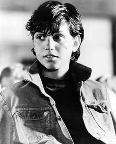 "Ralph Macchio as Johnny Cade in ""The Outsiders"" "" A little dark puppy that has been kicked too many times. The Outsiders Johnny, The Outsiders 1983, Willie Nelson, Die Outsider, Ralph Macchio The Outsiders, The Outsiders Imagines, Dallas Winston, Sydney, Cinema"