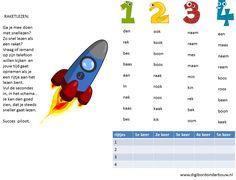 Leuk om bij thema 2 te gebruiken van Lijn 3. Snel leren lezen van woordjes.