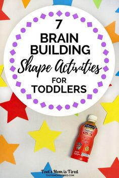 7 Brain Building Shape Activities for Toddlers   Enfagrow Toddler Next Step   toddler activities, STEM activities for toddlers, encourage brain growth, two years old, one year old, three years old, 18 months old, teach your toddler shapes, parenting tips, DHA, motherhood #AD