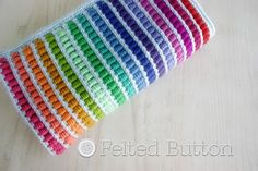 Abacus blanket #crochet pattern for sale from @feltedbutton