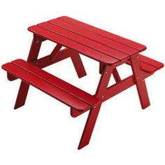 Kids' Picnic Table - $83