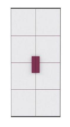 Kleiderschrank Lillyfee mit wundervollen violetten Farbakzenten passend zum Kinder- und Jugendprogramm Lillyfee 1 x Kleiderschrank mit 2 Türen 1 Einlegeboden und 1 Kleiderstange... #kinder #jugendzimmer #kleiderschrank