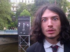 Ezra Miller Therapy, did you ever dream this man? Every night...