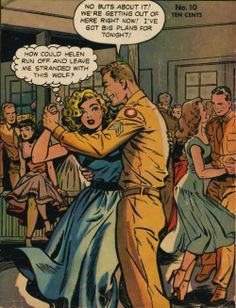 matt baker art | Art by Matt Baker from the cover of Wartime Romances #10, 1952. 46 ...