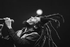 Bob Marley, 1980, at Hallenstadion - Zurich, CH.   Author - Peter Murphy