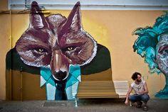 Cantamañanas IX Urban Art Festival   Caktus Parque de San Es…   Flickr