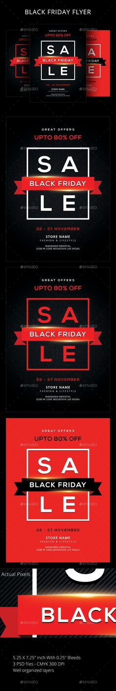 Buy Black Friday by sunilpatilin on GraphicRiver. Black Friday Flyer Black Friday Flyer is designed for all kind of events! The flyer is fully layered and organized to. Promotional Flyers, Text Tool, Event Flyer Templates, Event Flyers, Sale Flyer, Information Graphics, New Years Sales, Fashion Sale, Print Templates