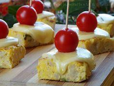 Cubotti+di+frittata+al+cavolfiore+e+formaggio+filante