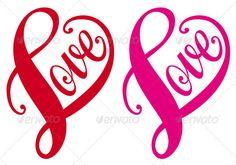 Simple Heart And Swirl Designs » Tinkytyler.org - Stock Photos ...