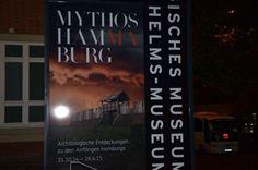 Ausstellungsplakat Mythos Hammaburg - eine Ausstellung, die ich nur empfehlen kann. Mehr auf www.sabstern.de