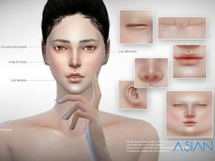 New skin: asian skin for you, for all age.  Found in TSR Category 'Sims 4 Skintones'