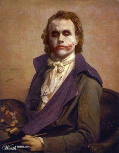 Joker's Self Portrait by smlxl