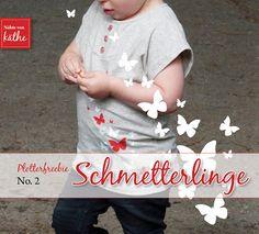 Plotterfreebies Schmetterlinge, Glücksklee, Schriftzuf Ahoi...
