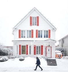 Ahuntsic-Cartierville - #Montreal #travel Montreal Quebec, Montreal Travel, Instagram, Cabin, Photo And Video, House Styles, Outdoor, Places To Visit, Travel
