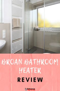 Broan Directionally-Adjustable Bathroom Heater Review.    If you're on the market for a high-quality bathroom heater, we found the Broan Directionally-Adjustable Bathroom Heater.  Learn more about it.    #AdvanceMyHouse #BathroomHeater #BestBathroomHeater #BathroomHeaterReviews #BroanBathroomHeater Modern Bathroom Paint, Modern Bathroom Faucets, Bathroom Showrooms, Bathroom Tile Designs, Big Bathrooms, Bathroom Layout, Bathroom Wall Decor, Modern Bathroom Design, Bathroom Interior Design