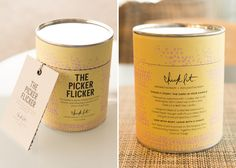 Chick Lit Candles on Packaging of the World - Creative Package Design Gallery Food Packaging Design, Print Packaging, Packaging Design Inspiration, Label Design, Package Design, Graphic Design, Candle Packaging, Beautiful Candles, Novelty Items