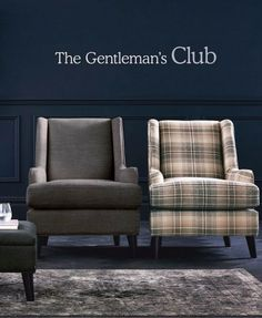 These armchairs give the classic look. Find more inspiration at Next.