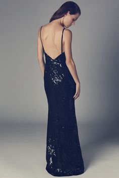 Q2 Black Maxi Dress With Bead And Sequin Embellishment