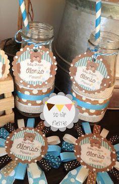 """So Hip Fiestas: Tierno Baby Shower con tema de """"Osito Teddy"""""""