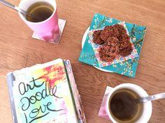 3 juni 2015. Vanmorgen kwam een vriendin bij mij thee drinken. We hadden het goed samen. We vonden herkenning bij elkaar, deelden onze dromen en sparden over allerlei creatieve ideeën. Superleuk dus!