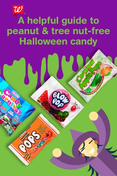 Have an allergy-friendly Halloween with this helpful guide. Stock up on peanut and tree nut-free candy for your kids and trick-or-treaters at Walgreens.