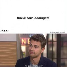 Couldn't have said it better myself, Theo.