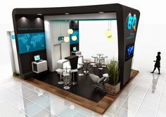 Exhibition Stand Design for Inspiration Exhibition Stall Design, Exhibition Space, Exhibition Stands, Exhibit Design, Stand Design, Hall Design, Exibition Design, Stand Feria, Futuristic Home