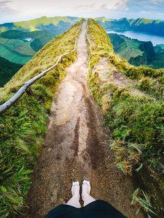 sao miguel island azores travel guide sete cidades boca do inferno Portugal Vacation, Portugal Travel, Places To Travel, Places To See, Travel Destinations, Fiji Travel, Wanderlust, To Go, Holiday Places
