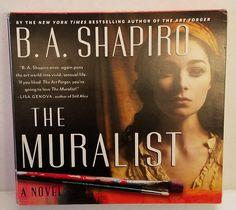 The Muralist by B. A. Shapiro Art Expressionism WPA Audio CD Unabridged