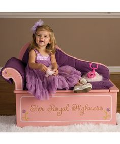 My little drama queen needs this for her dress up clothes in a few years.  Princess Storage Fainting Couch
