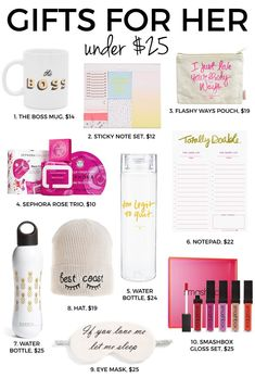 Gifts For Her Under 25