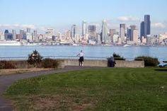 Alki Beach, Seattle, Washington