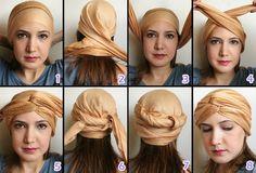 Como amarrar o turbante? | Oxente Menina | Ana Lu Fragoso