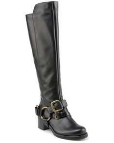 8c5c17fb81d7 Lisa Pliner  Adait  Leather Tall Boot Tall Leather Boots