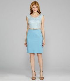 85b8e45c328 Antonio Melani Crone Cap-Sleeve Belted 2-Fer Dress