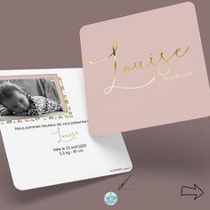 """28 mentions J'aime, 6 commentaires - Sandrine Ranéa 🇵 🇮 🇰 🇦 ☆ 🇨 🇴 🇲 (@pika_com_agde) sur Instagram: """"👩🏼💻 𝔽𝕒𝕚𝕣𝕖-𝕡𝕒𝕣𝕥 ℕ𝕒𝕚𝕤𝕤𝕒𝕟𝕔𝕖 👼🏼⠀ Bienvenue jolie Louise, un petit faire-part assorti à ta jolie petite…"""" Site Web Design, Place Cards, Place Card Holders, Instagram, Pink Leopard, Site Design, Welcome, Pretty"""