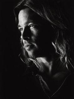 Brad Pitt fotografiado por Nigel Parry