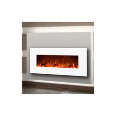 Moda Flame PRO Houston Wall Mount Electric Fireplace