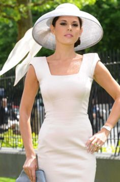 Royal Ascot: How to wear a hat guide: Danielle Lineker