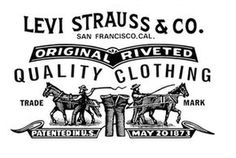 Levi Strauss, born Löb Strauß, was a German-Jewish emigrant to the US who manufactured blue jeans beginning in 1853 in San Fransisco California. Interesting side note he was also one of the principle investors in the Nevada Bank, along with the Lehman Bros. and other well off business men, which later became Wells Fargo. Wells Fargo is still headquartered in San Fransisco, Ca.