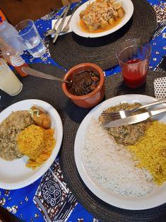 Restaurante em sp com comida congolanesa hmmmm Grains, Rice, Food, Restaurant, Meals, Essen, Seeds, Yemek, Laughter